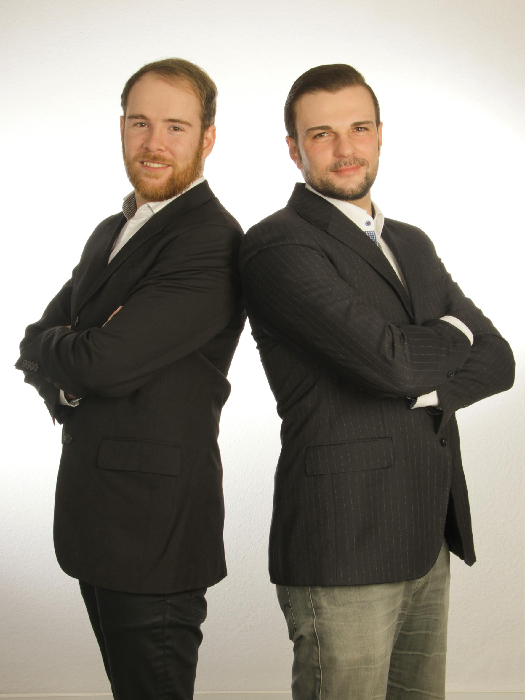Teamfoto von IT-Service Grimm Oliver Grimm Daniel Grimm